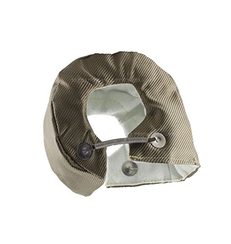 Ceramic Armor Plate (JC Performance Products USA Double-Sided Heat Shield Lava Titanium Turbo Blanket (JCP-LT4A))