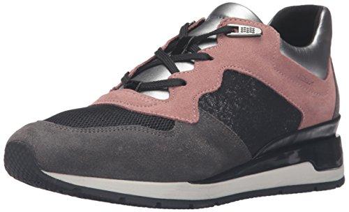 Geox D Shahira a, Zapatillas para Mujer Grau (OLD ROSE/DK GREYCA89F)
