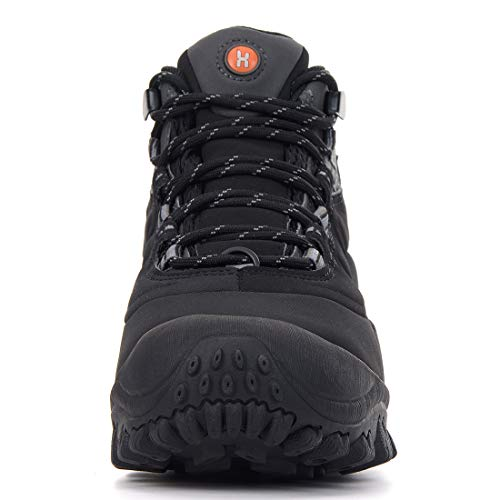 373912b32a5 XPETI Men s Thermador Mid Waterproof Hiking Hunting Trail Outdoor Boot  Black 7