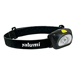 yalumi LED Headlamp Spark 105-Lumen 90-Meter Spotlight, Advanced Optics, 1.5X Brightness, Longer Battery Life, Less than 2.7oz (Black/Black)
