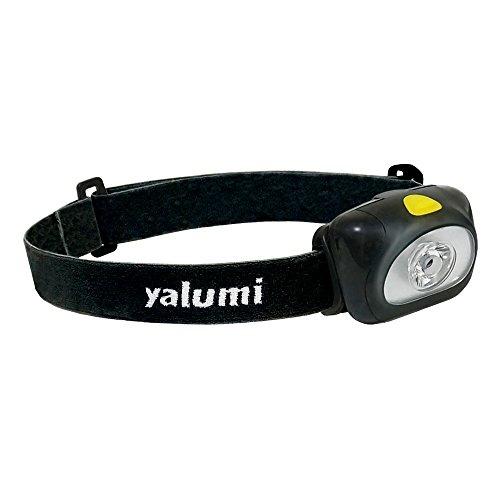 Yalumi LED Headlamp Spark 105-Lumens, Max 140 Lumens 90-Meter Spotlight, Advanced Optics, 1.5X Brightness, Longer Battery Life, Less than 2.7oz (Black/Black)