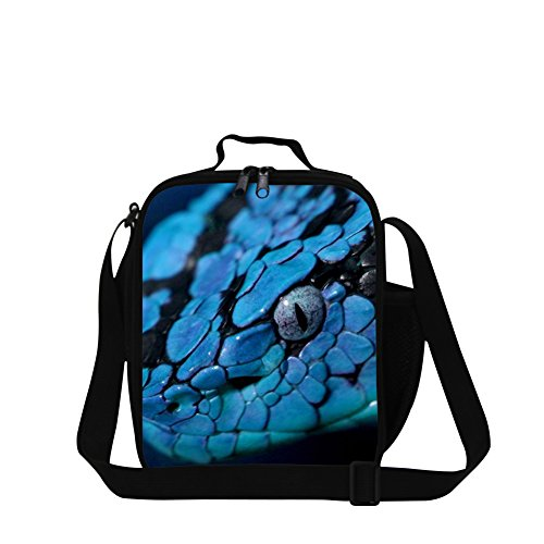 Creativebags Animal Lunch Bag With Water Pocket for School Kids Adults Outdoor Work Office ()