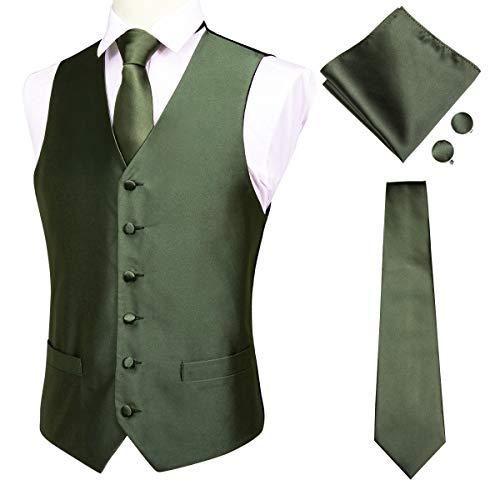 Hi Tie Waistcoat Necktie Pocket Cufflinks product image