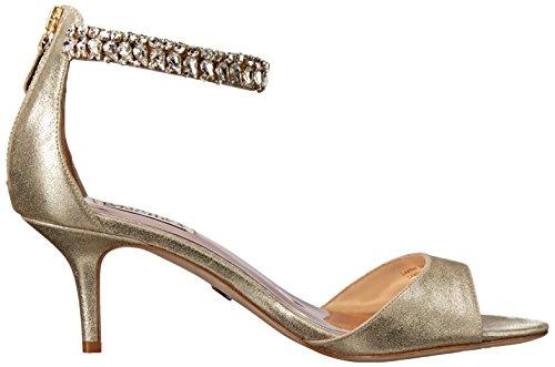 Badgley Mischka Womens Angel II Dress Sandal Platino RV6oPS