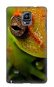 New Fashionable Storydnrmue JkcyjC-3346-BifqO Cover Case Specially Made For Galaxy Note 4(Animal Tree Frog)