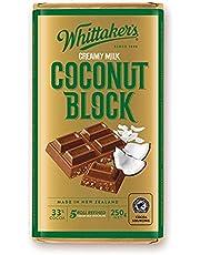 Whittaker's Coconut 250g Block