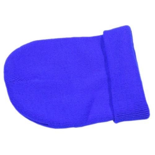 copo de Beanie nieve Slouch Hombres punto de oscuro Azul Cap COMVIP suave invierno de del xqE4Yw0nI
