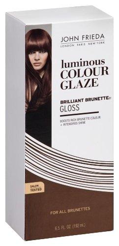 John Frieda Luminous Colour Glaze Brilliant Brunette Gloss 6.5oz (3 Pack)