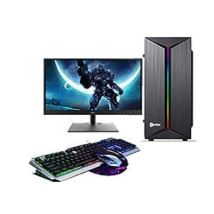 CHIST Gaming Desktop Intel Core i5 8GB 1TB HDD DDR5 GT 710 2GB Graphic Card 19inch Full HD Monitor Keyboard Mouse WiFi…