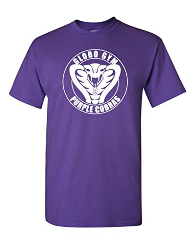 Globo Gym Cobra Funny Parody Adult DT T-Shirt Tee (X Large, Purple)]()