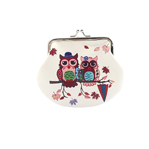Price comparison product image Pocciol Clearance! Wallet, Vintage Womens Elephant Wallet Card Holder Coin Purse Clutch Handbag (B)