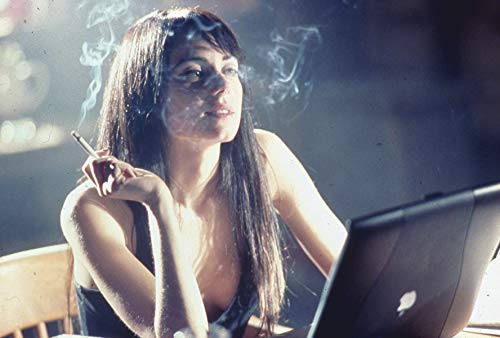 Mia Kirshner Smoking By Computer The L Word Original 35mm Photo Transparency