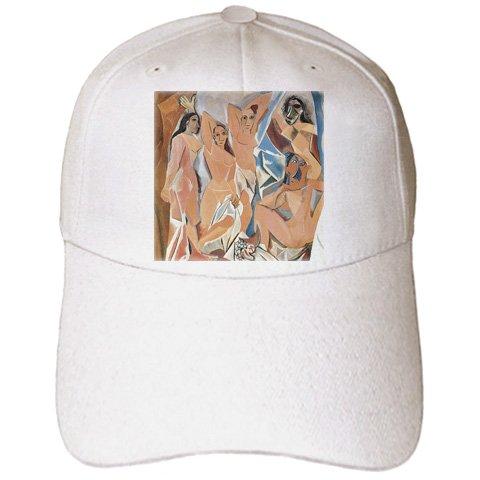 BLN Beautfiul Nudes Fine Art Collection - Les Demoiselles dAvigon by Pablo Picasso - Caps - Adult Baseball Cap (cap_128007_1)