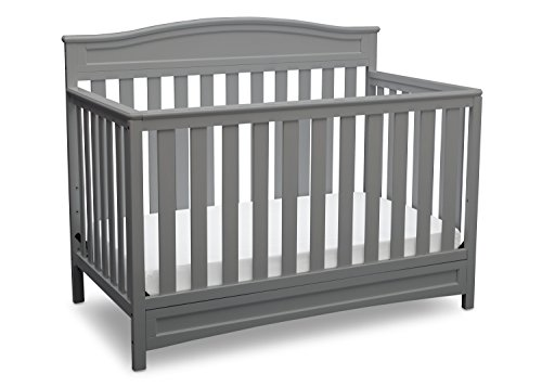 Soho Metal Bed - Delta Children Emery 4-in-1 Convertible Baby Crib, Grey