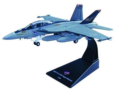 F/A-18F Super Hornet diecast 1:100 model (Amercom SL-6)