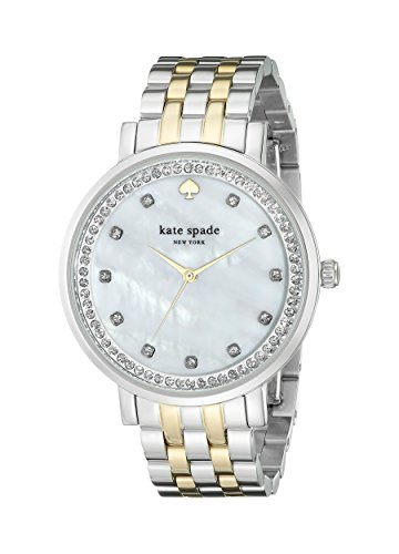 kate spade new york Women's 1YRU0823 Monterey Two-Tone Bracelet Watch with Crystals