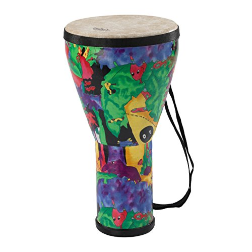 Remo Kid's Percussion 14in Djembe Drum with Rain Forest Design by Remo (Image #1)