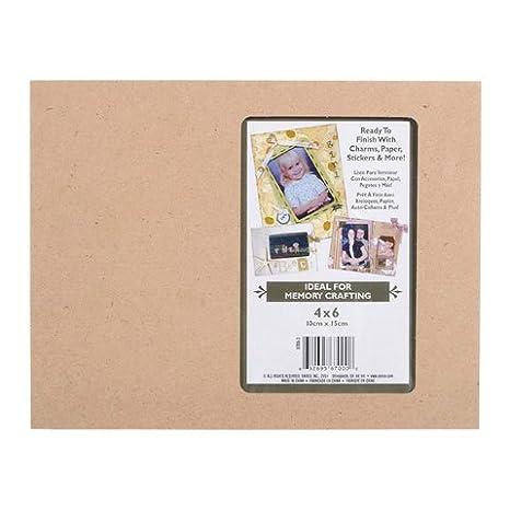 Amazon.com: Bulk Buy: Darice DIY Crafts Memory Frame 4 x 6 Photo ...