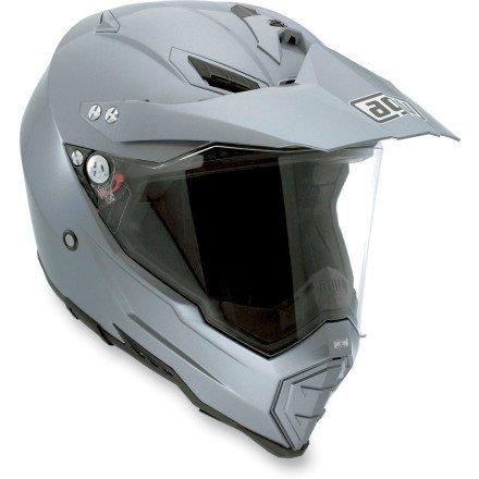AGV AX-8DS Evo Helmet (MEDIUM) (GREY)
