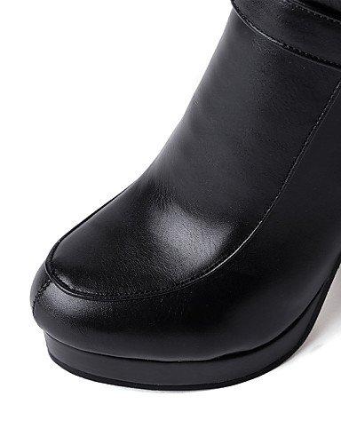Eu37 Zapatos Robusto Rojo Trabajo De Mujer Uk4 Ante Xzz 5 Eu us6 Oficina 5 Almond Tacón Eu38 Casual 7 Punta Cerrada White 5 us7 5 negro Vestido Y Cn38 Botas Redonda 5 Uk5 Cn37 aIq1adwBP