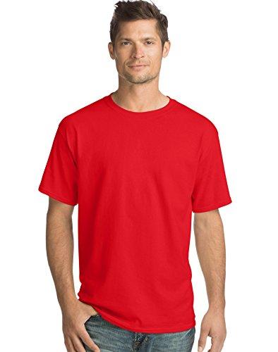 - Hanes Men's TAGLESS ComfortSoft Crewneck T-Shirt