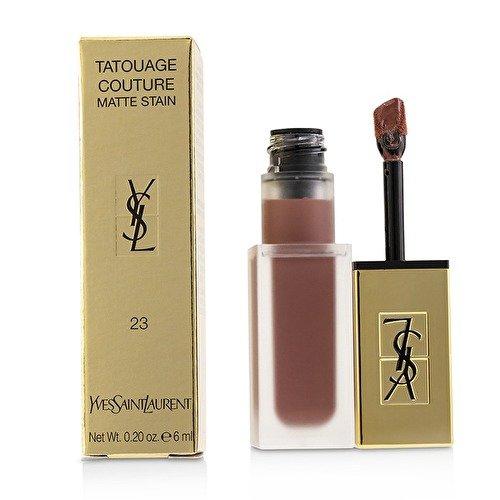YSL Tatouage Couture Matte Stain Liquid Lipstick - Singular Taupe No. 23