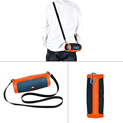 Durable Protective case Silicone Carrying Case Cover for JBL Charge 4 Wireless Bluetooth Speaker