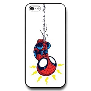 MMZ DIY PHONE CASEUniqueBox Customized Marvel Series Case for iphone 6 plus 5.5 inch, Marvel Comic Hero Spider Man Logo iphone 6 plus 5.5 inch Case, Only Fit for Apple iphone 6 plus 5.5 inch (Black Hard Case)