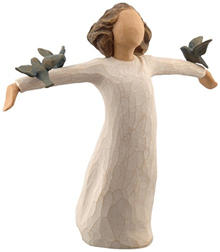 Willow Tree 26130 Figur - Susan Lordi - Zufriedenheit, Glück, Fröhlichkeit