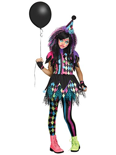 Fun World Twisted Circus Costume, Multicolor, X-Large