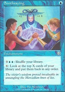- Magic: the Gathering - Soothsaying - Mercadian Masques - Foil