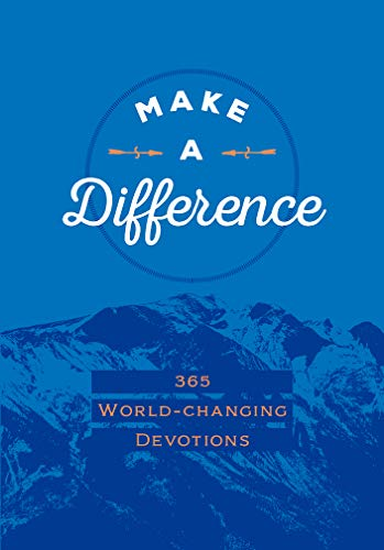 Make a Difference (Faux)