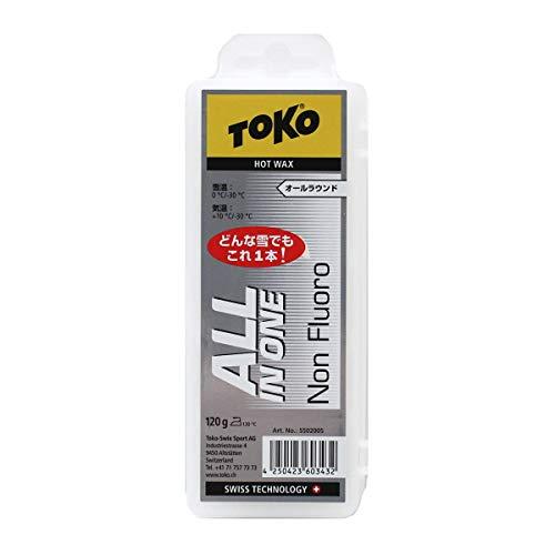[해외]TOKO (토) 스키 & 스노우보드 왁 스 기준 雪質 대응 왁 스 올인원 120g 5502005 순수한 파라핀 고체 왁 스 / TOKO Ski & Snowboard Wax All snow-in-one 120g 5502005 pure paraffin Solid Wax