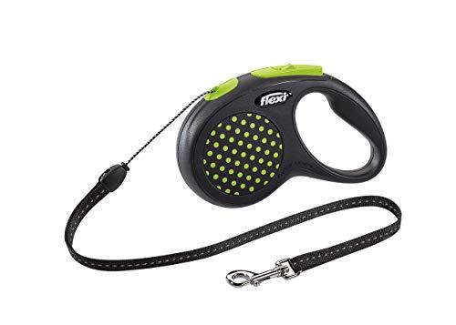 Guia Retratil Flexi Design Corda P 5m - Verde