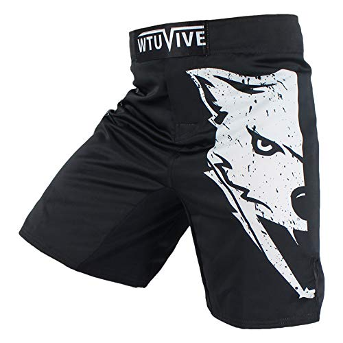 WTUVIVE Boxing Shorts for Men and Teens Gym Training MMA Shorts