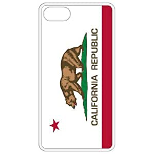California CA State Flag White Apple Iphone 4 - Iphone 4s Cell Phone Case - Cover