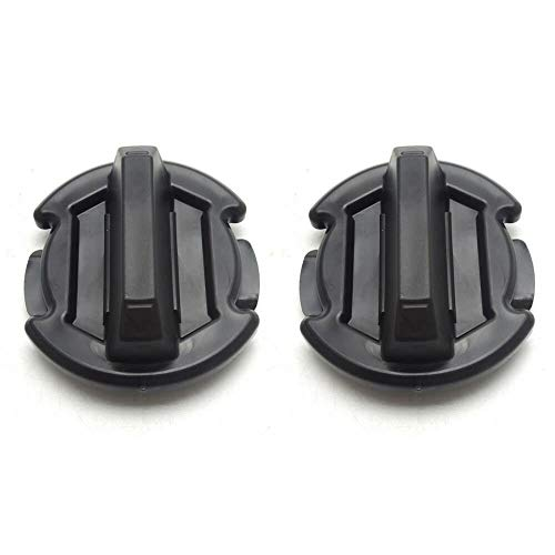 2 Pcs Floor Drain Plug Twist Trap Seal for 2014-2018 Polaris RZR 1000 900 XP Turbo - KIWI MASTER