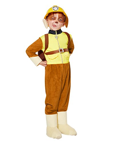 Spirit Halloween Toddler Rubble Costume Deluxe - Paw Patrol, -