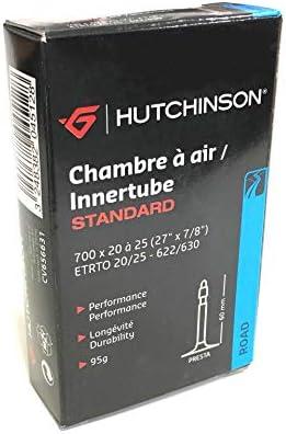 HUTCHINSON CV656631 Cámara de Bicicleta, Unisex, Negro, 700 x 20 a ...
