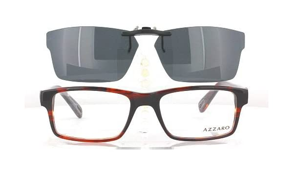 79b469b0e439 Amazon.com  AZZARO AZ30009-53X18 POLARIZED CLIP-ON SUNGLASSES (Frame NOT  Included)  Health   Personal Care