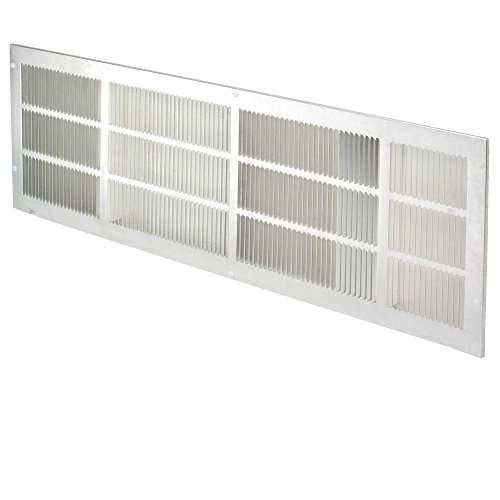Fragment PTAC Grille, Stamped Aluminum, 42 x 16, Clear