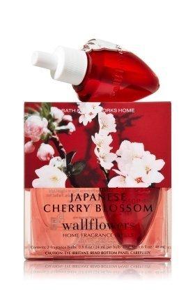 Bath & Body Japanese Cherry Blossom Wallflowers Pack of 2 Blubs by Bath & Body