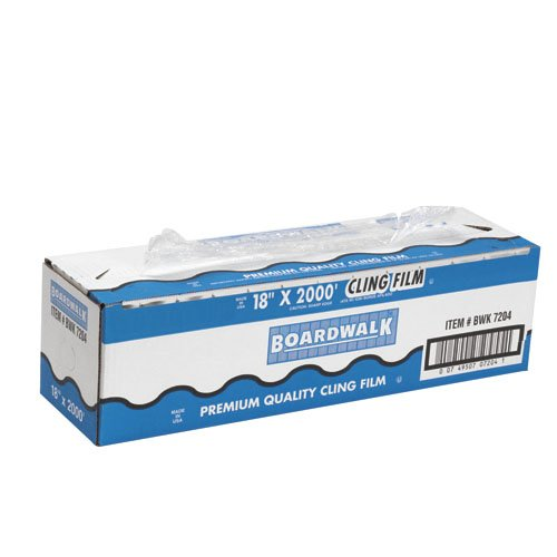 "UPC 749507993339, Boardwalk BWK 7230 3000' Length, 18"" Width PVC Food Wrap Film"