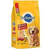 Ração Para Cachorros Pedigree Carne Frango e Cereais Adultos Raças Médias e Grandes 1kg