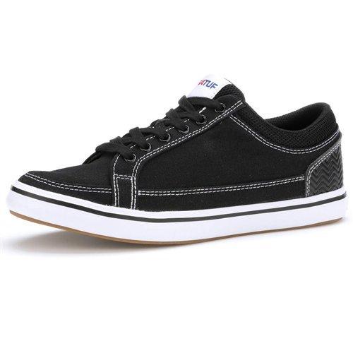 Xtratuf Men's Chumrunner Sneakers, Black, 9.5 M