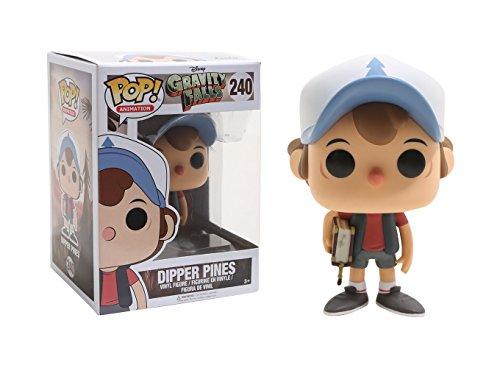 Funko Gravity Falls POP! Animation Dipper Pines Vinyl Figure #240 [Regular Version], Styles may vary -