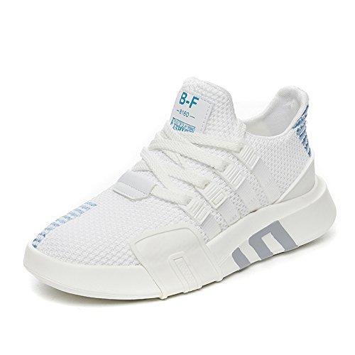 amp;G Zapatos De NGRDX Deportivo Zapatillas White Calzado Mujer Plataforma 4wqqX7dxz