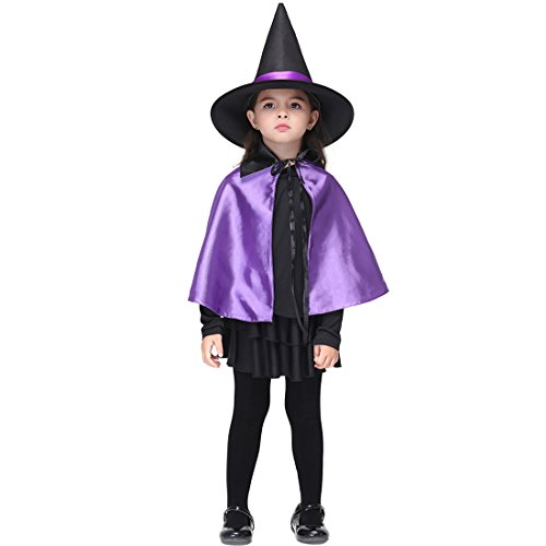 Cute Superhero Costumes Ideas (Slocyclub Child Cute Fairytale Witch Party Costume for Age 3-9)