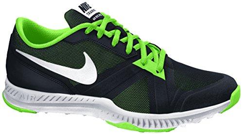 Nike Air Epic Speed TR, Zapatillas de Deporte para Hombre Negro / Blanco / Verde (Black / White-Voltage Green)