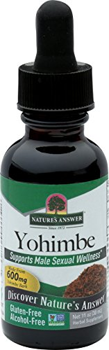 Yohimbe Bark - Nature's Answer Alcohol-Free Yohimbe Bark, 1-Fluid Ounce